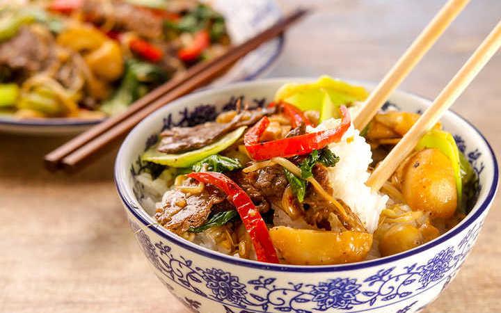 Comida china que no existe en China