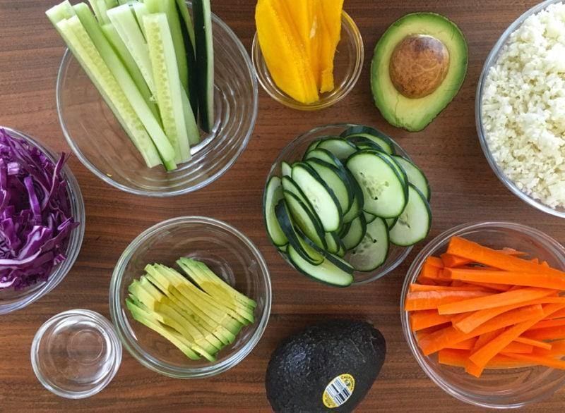 Ingredientes para preparar sushi en casa como un profesional