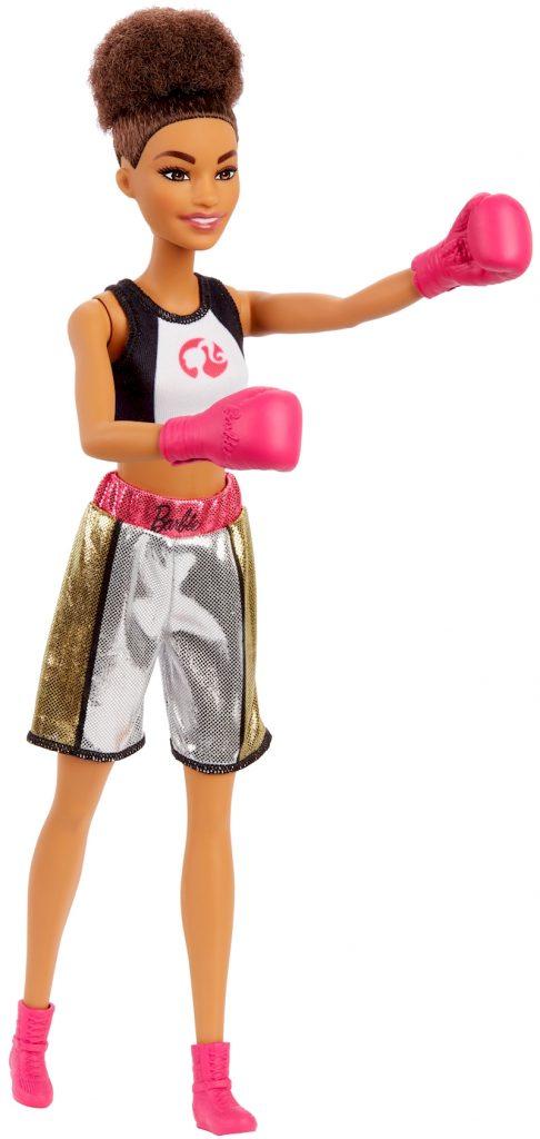 Barbie boxeadora