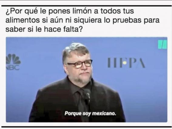 meme soy mexicano, Guillermo del Toro
