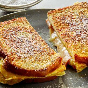 Receta fácil: Desayuno completo en un sándwich